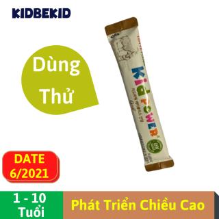Sữa Dê Tăng Chiều Cao Lotte Foods Kid Power A+ gói 14g, bổ sung DHA, khoáng chất, lợi khuẩn Nhập khẩu Hàn Quốc cho trẻ từ 1-10 tuổi thumbnail