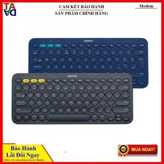 Bàn phím Bluetooth Logitech K380 Multi-Device - Kết nối Bluetooth cùng lúc 3 thiết bị thumbnail