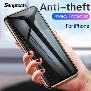 Sanptoch Bao Kính Cường Lực Cong Full 9D Chống Nhìn Trộm Bảo Vệ Cho iPhone X XS MAX XR 7 8 Plus - INTL thumbnail