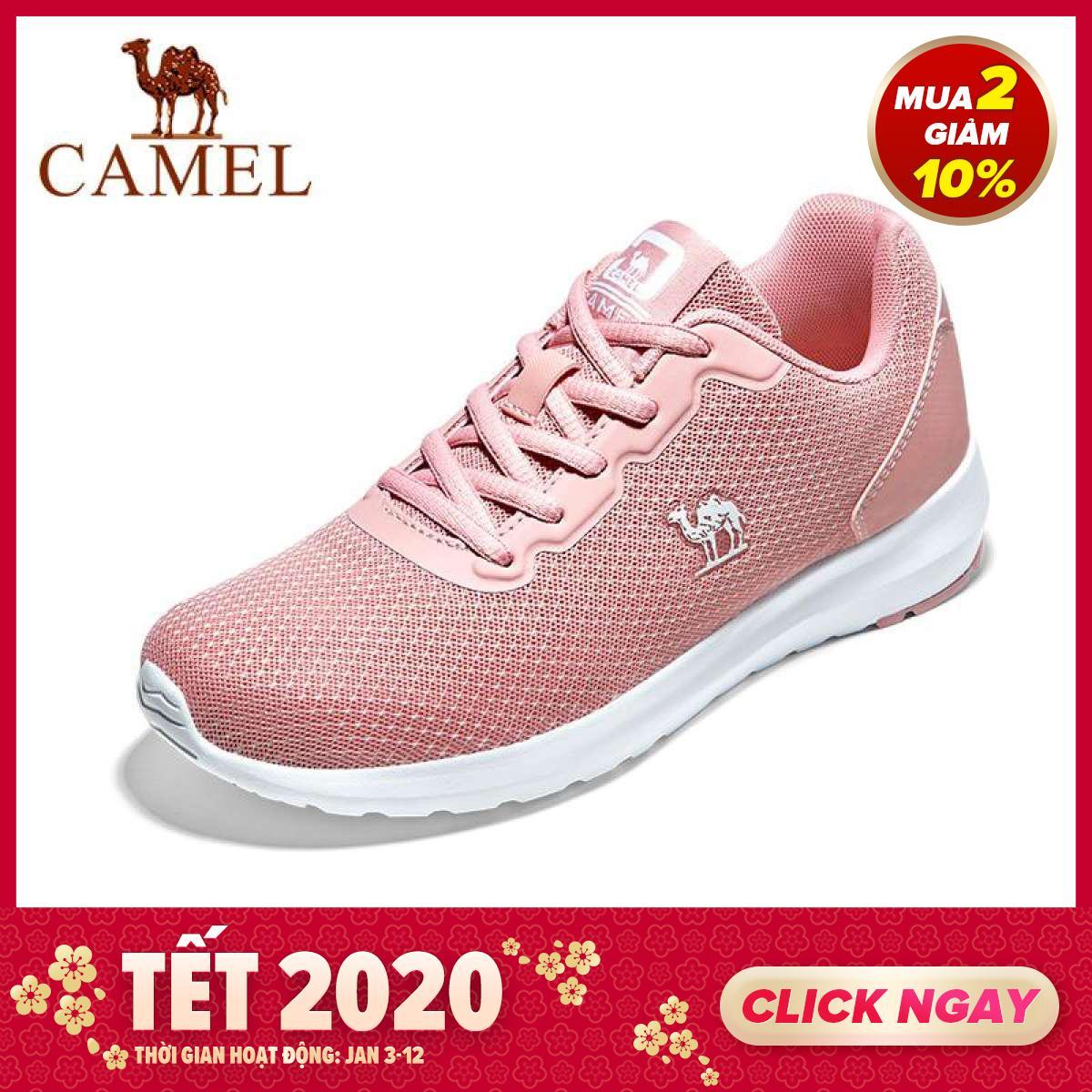 Deal Khuyến Mại Giày Thể Thao Lạc Đà Giày Chạy Bộ Nữ Giày Thường Ngày Xu Hướng Thời Trang Giày Chạy Bộ Thoáng Khí Nhẹ