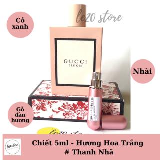 [ Mẫu chiết 5ml ] Nước hoa nữ thơm lâu chính hãng Gucci bloom - nước hoa nữ - nuoc hoa cao cap - nuoc hoa gucci 5ml - nước hoa nữ - the gioi nuoc hoa thumbnail