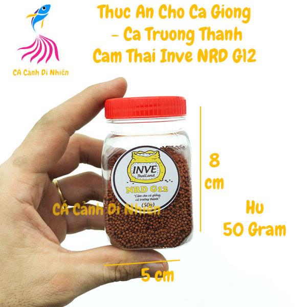 Thức ăn cho cá cảnh - Cám Thái INVE NRD G12 - 50 gram
