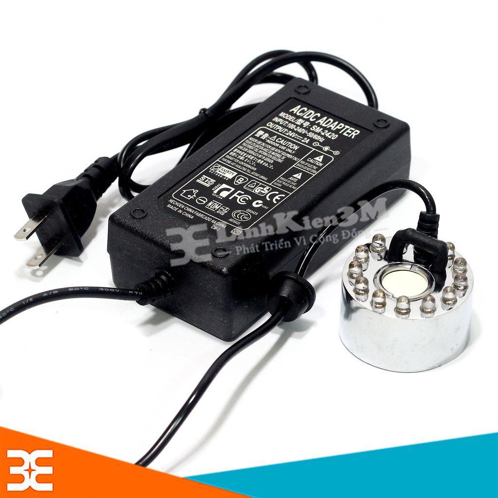 Bảng giá [Tp.Hà Nội] Combo Động Cơ Phun Sương HB-20 Và Nguồn Adapter 24V-2A