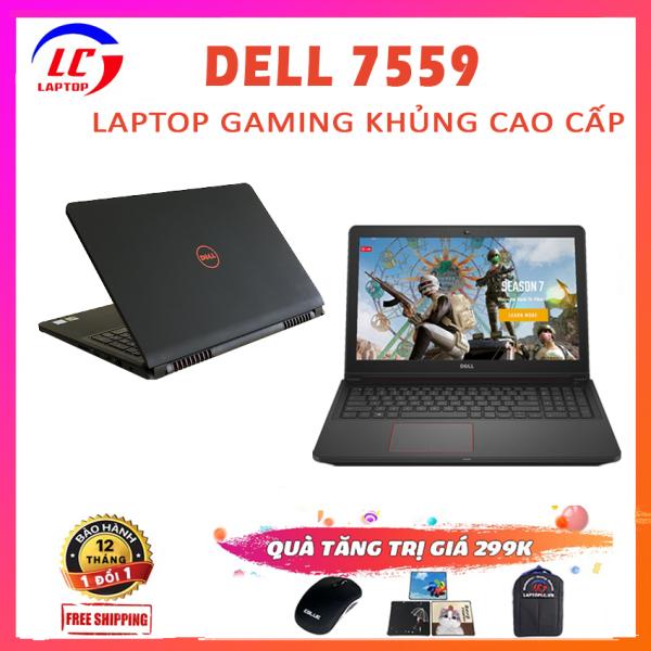 Bảng giá [Trả góp 0%]Dell Inspiron 7559 Laptop Gaming + Đồ Họa i5-6300HQ VGA Nvidia GTX 960M-4G Màn 15.6 Full HD Laptop Dell Phong Vũ