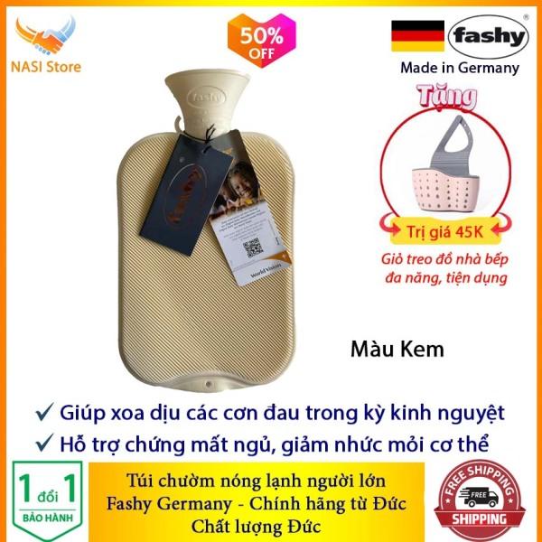 Túi Chườm Nóng Lạnh Fashy cổ điển (nhập khẩu từ Đức) - Túi chườm bụng kinh, chườm giảm đau, chườm bụng sau sinh, túi chườm nước nóng, túi chườm đa năng - NASI Store bán chạy