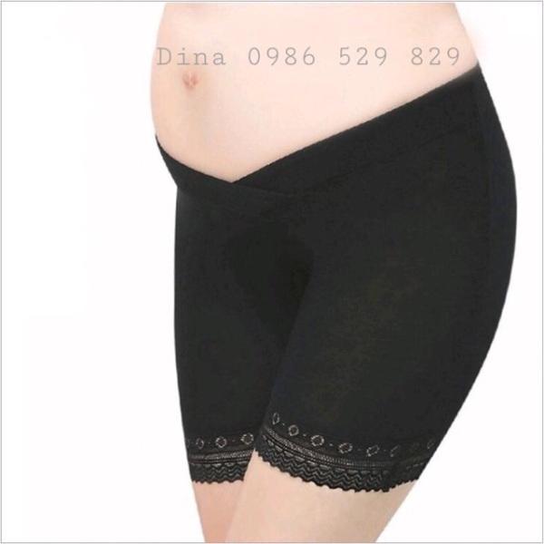 Quần mặc váy bầu quần đùi mặc trong váy bầu cạp chéo màu đen màu da chất cotton mát, cam kết hàng đúng mô tả, chất lượng đảm bảo an toàn đến sức khỏe người sử dụng
