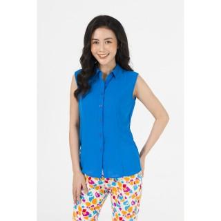 Áo kiểu màu xanh dương Zenic thumbnail