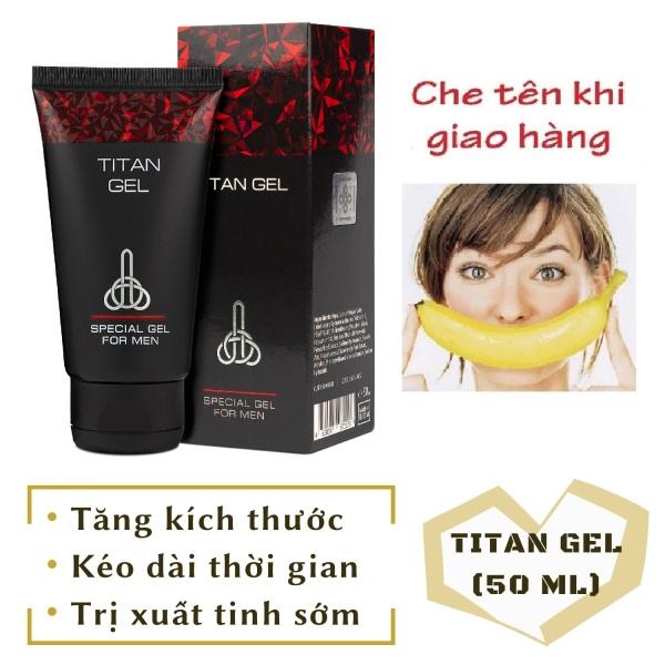 [Lô mới nhất] Gel Titan Nga cao cấp (50ml)
