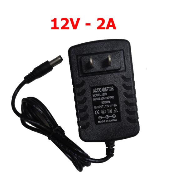 Bảng giá Adapter cấp nguồn DC 12V/2A ADAPTER 1220 đạt chuẩn 3C dùng cho Router Modem Wifi TV Box Switch đèn LED