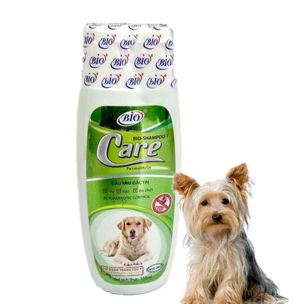 Sữa tắm Bio Care 150ml đặc trị ve rận bọ chét cho thú cưng