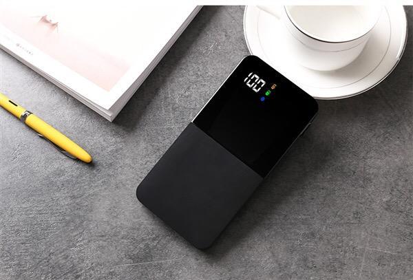 Pin sạc dự phòng Q100 Polymer 15000mAh Cát Thái pin sac du siêu mỏng cảm giác tay tốt nhỏ gọn trang nhã cao quí 2 cổng vào Android và IOS 2 cổng USB