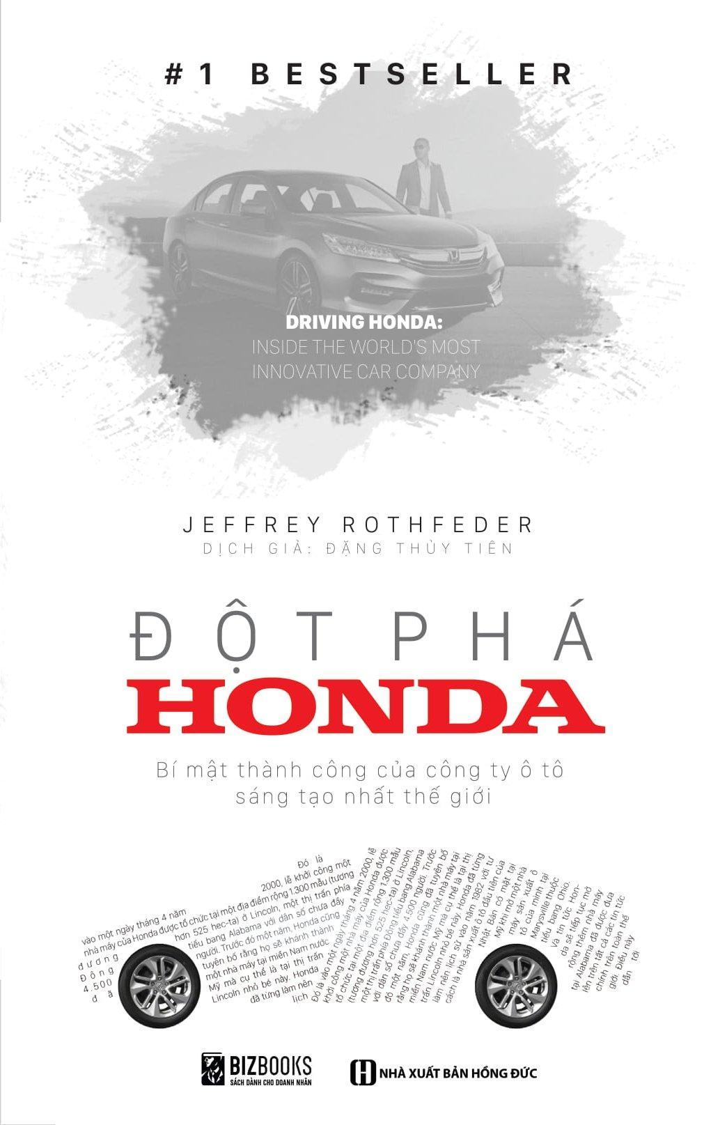 Mua Đột phá Honda – Bí Mật Thành Công Của Công Ty Xe Sáng Tạo Nhất Thế Giới