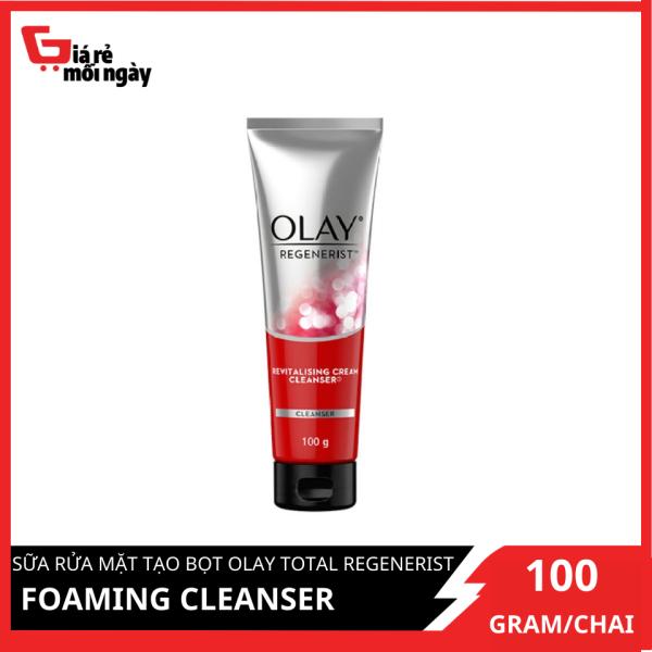 Sữa rửa mặt tạo bọt Olay Regenerist Foaming Cleanser 100g
