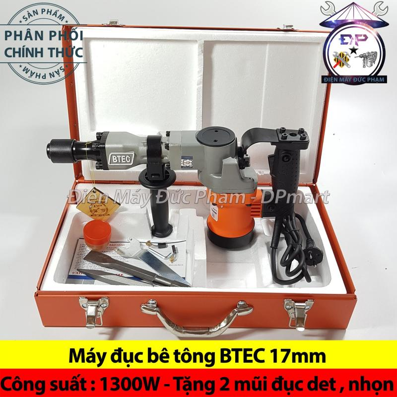Máy đục phá bê tông nhật bản BTEC 0810 - 1300W ( công ty )