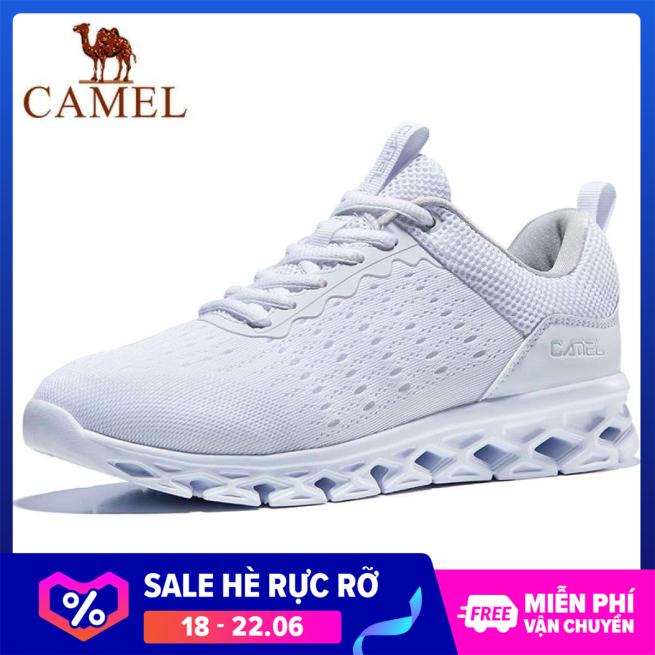 Giày sneaker thể thao nữ thoáng khí đế động lực êm chân thời trang đơn giản Camel giá rẻ