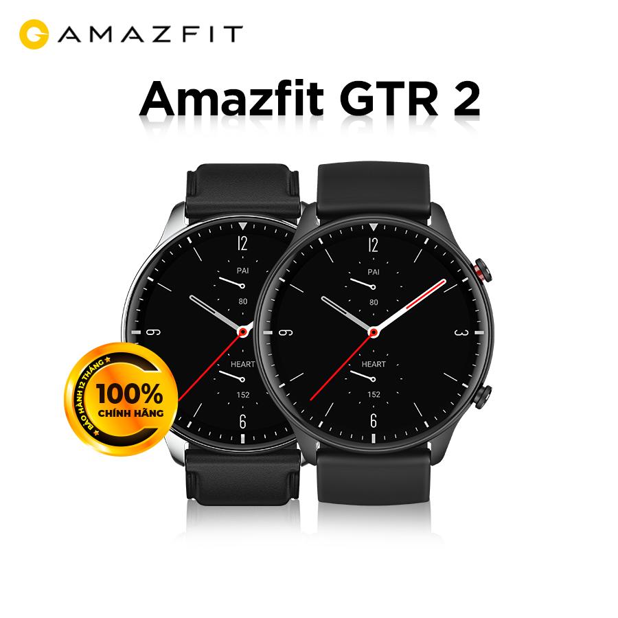 Đồng hồ thông minh Xiaomi Amazfit GTR 2 - Hàng Chính Hãng - Bảo hành 12 tháng - Phiên bản Quốc Tế Tiếng Việt