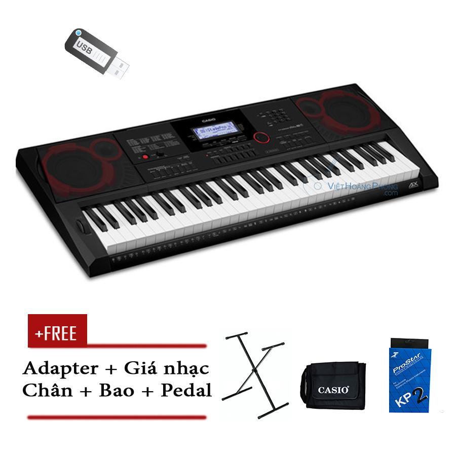 Lazada Khuyến Mãi Khi Mua Đàn Organ Casio CT-X3000 Kèm USB + Chân + Bao + Pedal ( CTX3000 ) - HappyLive Shop