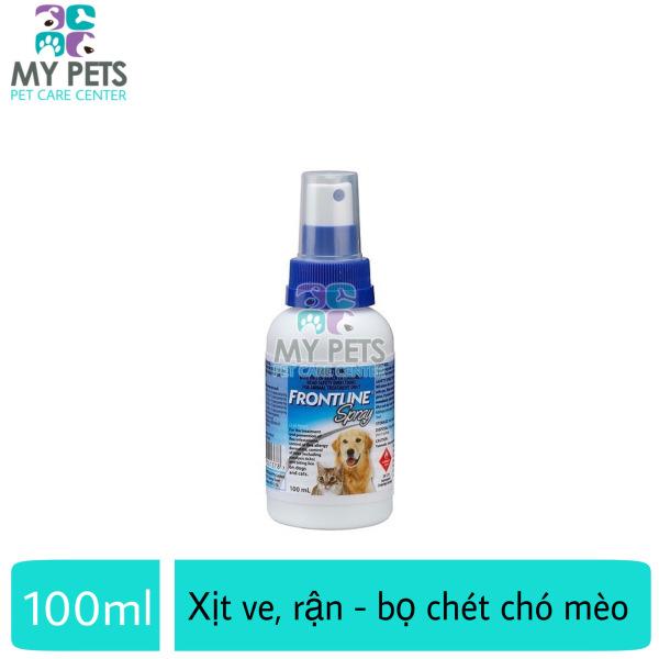 [HCM]Frontline Spray xịt ve rận bọ chét cho chó mèo - Frontline Spray xịt 100ml