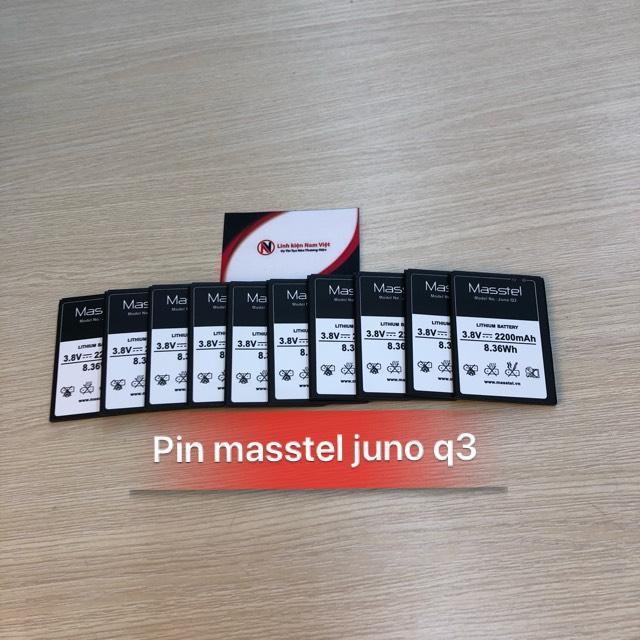 Hot Deal Khi Mua PIN ĐIỆN THOẠI MASSTEL JUNO Q3 ZIN - 2200mAh - BẢO HÀNH 3 THÁNG .