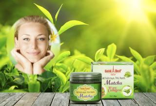 [M][LÀM SẠCH MỤN CÁM] Gel lột mụn tinh chất trà xanh Matcha Gold Bee (Date 36 tháng) thumbnail