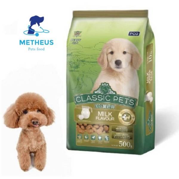 [RẺ VÔ ĐỊCH] Thức Ăn Cho Cún Classic Pets Hạt Khô Gói 400G - Metheus shop
