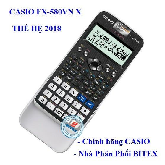 Mua Máy tính Casio Fx 580VN X  Bảo hành 2 năm