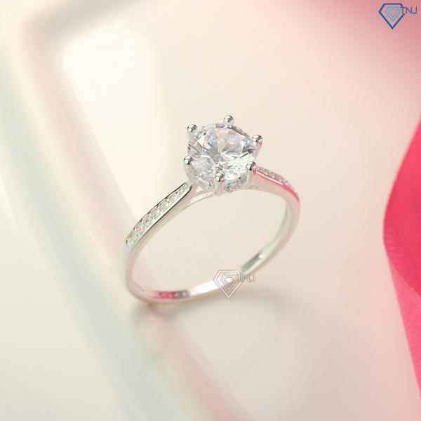 Nhẫn nữ bạc cá tính đính đá cao cấp NN0254 - Trang Sức TNJ