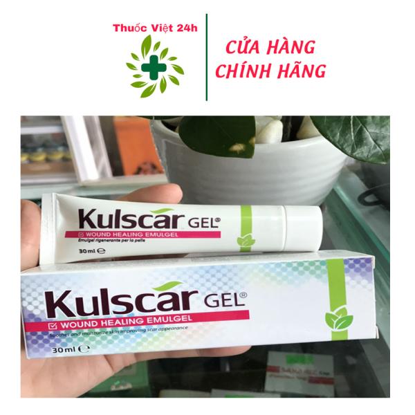 Kulscar Gel - Hỗ Trợ Điều Trị Vết Thương Hở & Hạn Chế Hình Thành Sẹo