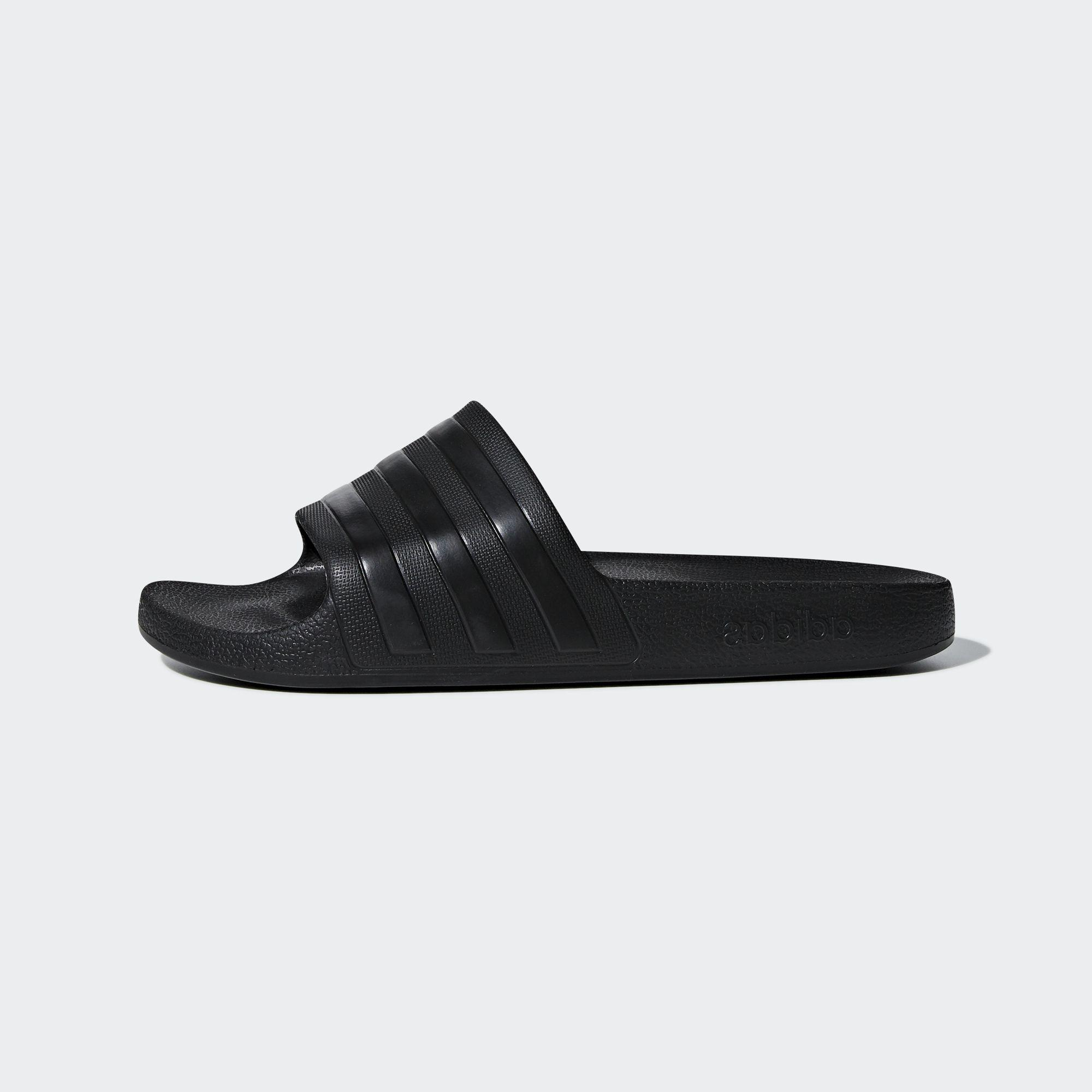 Adidas SWIM Dép Quai Ngang Adilette Aqua Unisex Màu đen F35550 Siêu Giảm Giá
