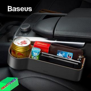 Hộp đựng đồ Baseus Elegant ghế lái và ghế phụ cho xe ô tô , lưu trữ chìa khóa, điện thoại, chai nước, các vật dụng nhỏ giúp không gian xe gọn gàng và sang trọng thumbnail