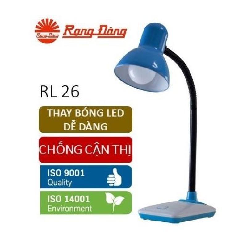 Đèn bàn LED Rạng Đông 5W bảo vệ thị lực, thay bóng dễ dàng, không tia UV & cực tím. RL 26