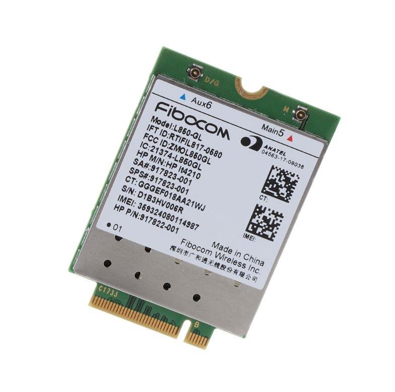 Giá Card wwan 4G HP LT4210 Fibocom L850-GL dùng cho laptop HP Core i thế hệ 8