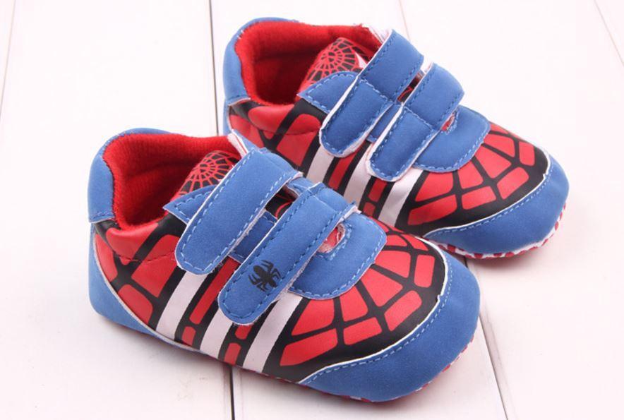 Giày tập đi người nhện Spiderman anh hùng cho bé trai