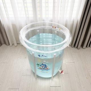 Bể bơi thành cao Doctor Dolphin loại to (Tặng kèm phao, bơm...) 1