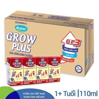 Sữa Bột Pha Sẵn Grow Plus Vinamilk 48 hộp 110ml [ date luôn mới ] thumbnail