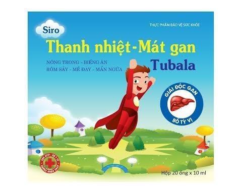 Siro Thanh Nhiệt - Mát Gan Tubala