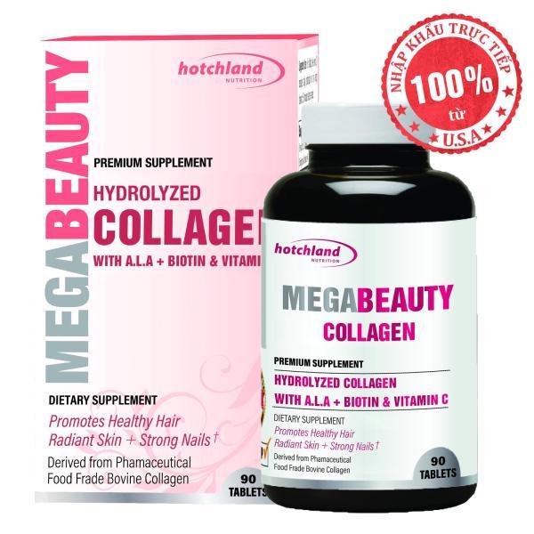 Thực phẩm chức năng bổ sung collagen, giúp đẹp da, dưỡng móng tóc Mega Beauty giá rẻ