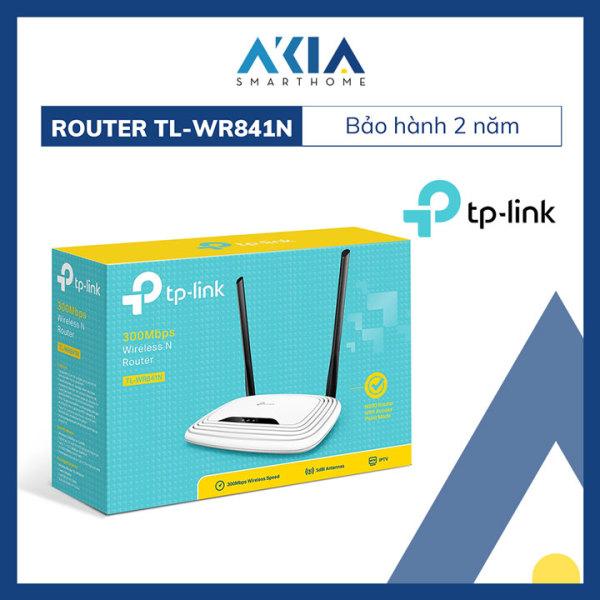 Bảng giá Bộ Phát Wifi Chuẩn N Tốc Độ 300Mbps TP-Link TL-WR841N - Hàng Chính Hãng Phong Vũ