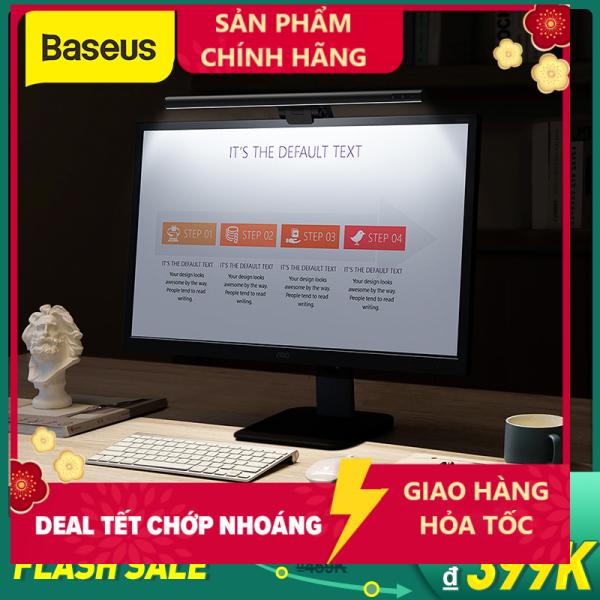 Bảng giá Baseus Đèn LED dạng thanh dài hỗ trợ ánh sáng cho màn hình LCD điều chỉnh độ sáng phù hợp để học tập đọc sách tại nhà, văn phòng làm việc - INTL