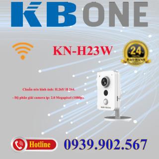 Camera IP Cube hồng ngoại không dây 2.0 Megapixel KBVISION KN-H23W thumbnail