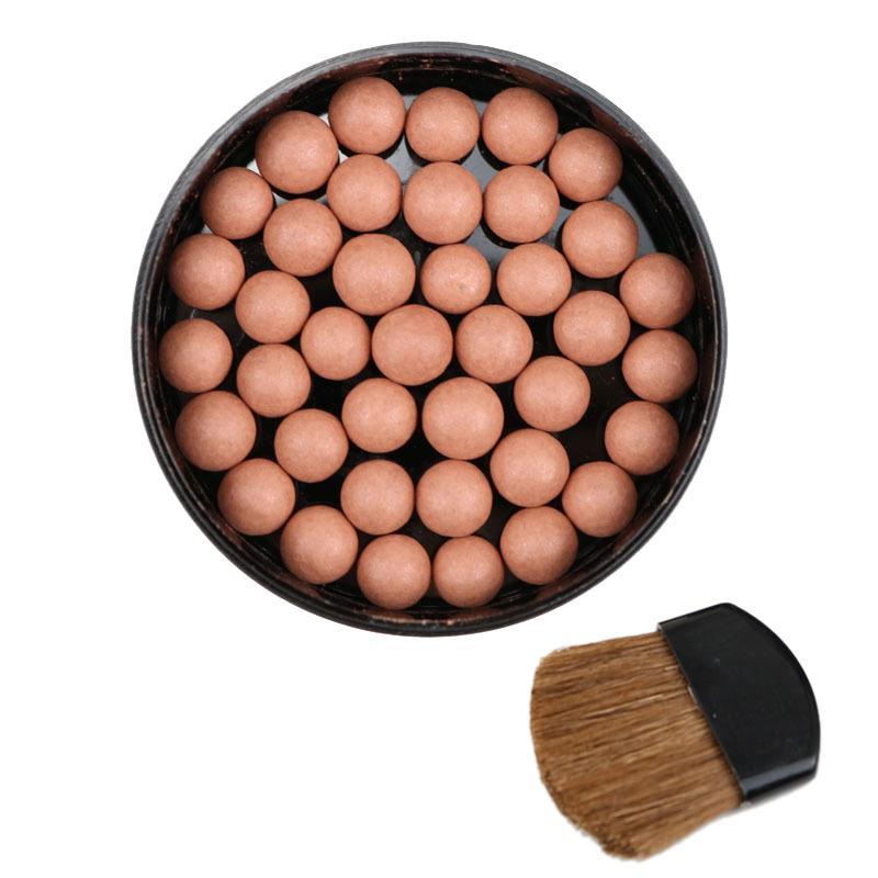 1Pc Makeup Face Matte Blusher Ball 3 In 1 Blush Eyeshadow Contour Cosmetics Powder Balls #4 cao cấp