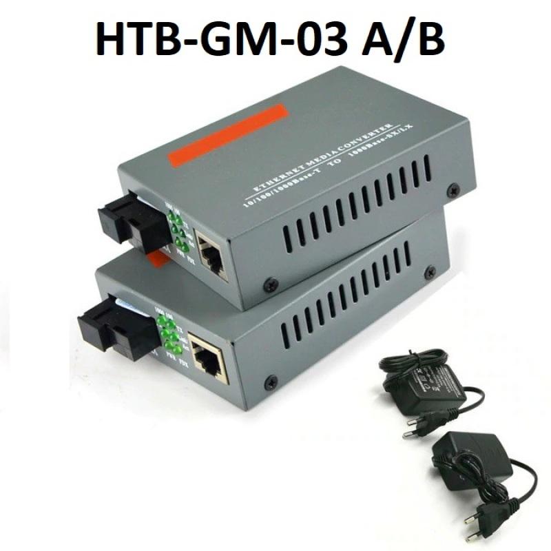 Bảng giá Thiết Bị Chuyển Đổi Quang Điện Netlink HTB-GM-03A/B Phong Vũ