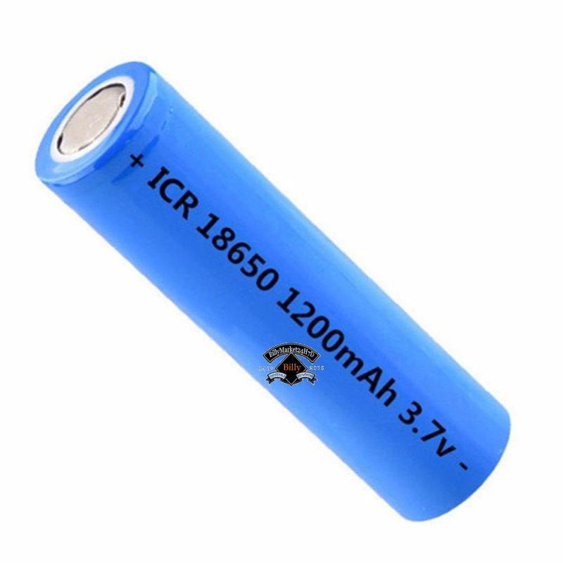 Pin Sạc ICR 18650 1200mah 3.7v ( Màu Xanh ) dùng cho Box sạc, cell laptop, đèn pin, mic, đồ công nghiệp...hiệu suất chuyển đổi năng lượng cao