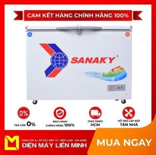 TRẢ GÓP 0% - Tủ đông Sanaky 220 lít VH-2899W1 - Miễn phí vận chuyển HCM thumbnail