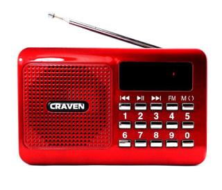 Loa nghe nhạc đa năng Craven CR-26 (Đỏ) - Phụ Kiện 1986 thumbnail