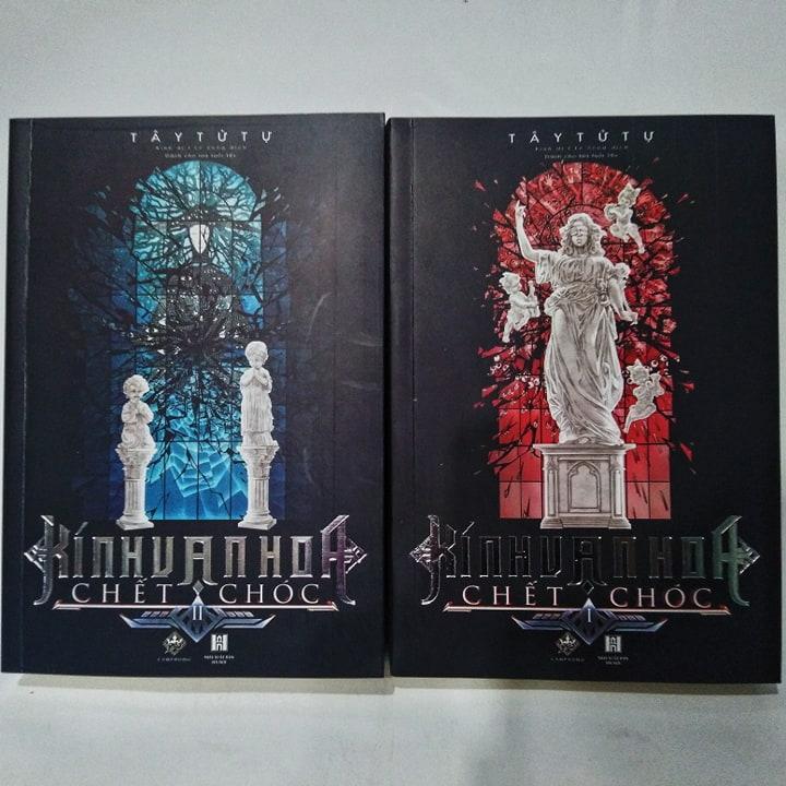 Sách - Kính Vạn Hoa Chết Chóc (Combo 2 Tập) - Tặng Kèm Bookmark Giá Sốc Nên Mua