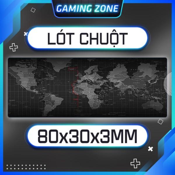 Bảng giá Lót chuột, bàn di chuột chơi game hình thế giới cỡ lớn siêu êm Phong Vũ