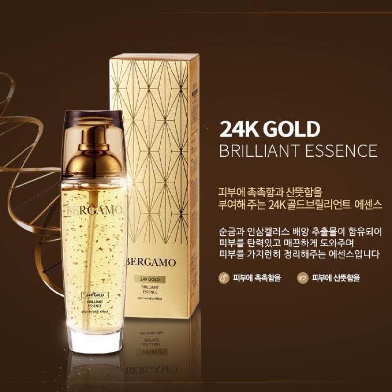 Tinh chất dưỡng da chống lão hoá Bergamo 24k Gold