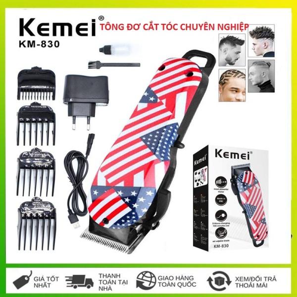 Tông đơ cắt tóc, tông đơ cắt tóc chuyên nghiệp kemei 830 giá rẻ