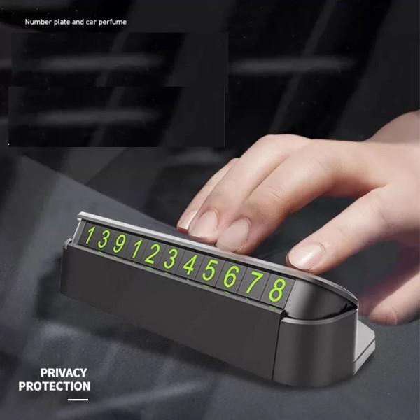 Bảng số điện thoại ô tô- bảng ghi sđt gắn taplo khi đỗ xe